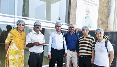 杰曼检重秤在印度乳业巨头—Auml产线上稳定运行超6年